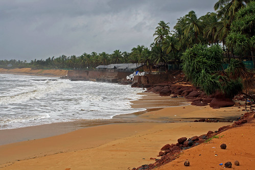 The Sinquerim beach, Goa, India