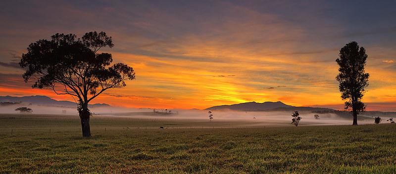 Daybreak on the Tablelands