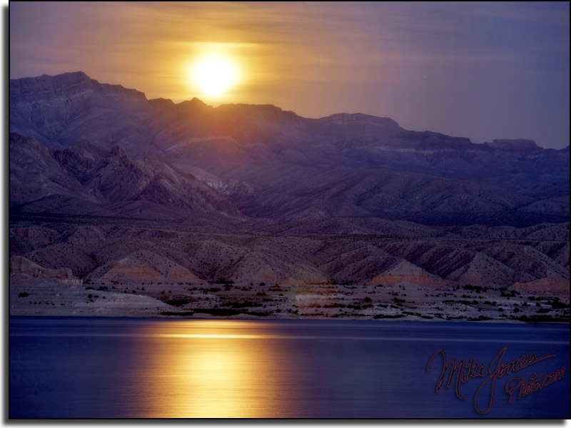 Lake Mead Moonrise