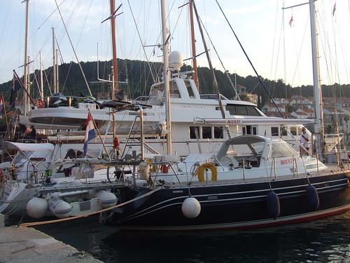 Korcula kikötő