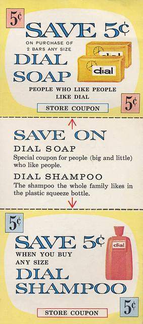 Dial Soap & Shampoo, 1961
