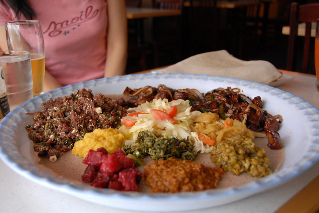 Dukem authentic ethiopian restaurant dukem authentic for Authentic ethiopian cuisine