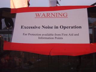 Noise Warning