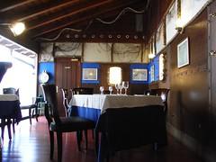 Zona del Comedor de Menú del Restaurante Untzigain
