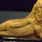 Parthian figure of man feasting 1st-3rd centuries BCE Iran or Iraq terracotta