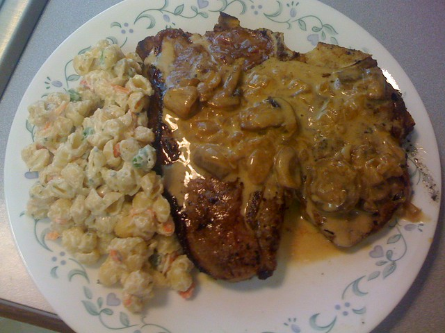 Porterhouse Steak With Whisky Mushroom Sauce Recipes — Dishmaps