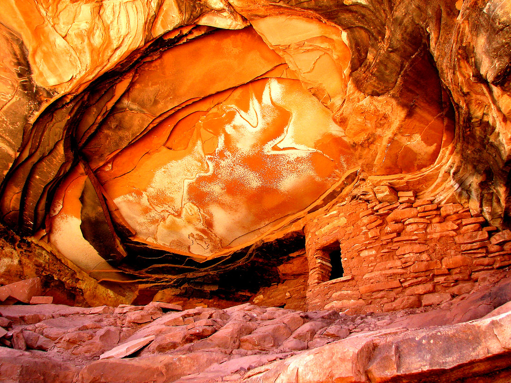 Ceiling House Ruin by Red Dirt Dawg