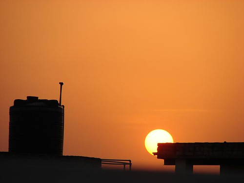 light sunset summer sky sun noida india building nature clouds evening nps environment भारत