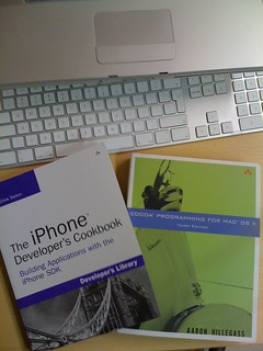 Christmas gift for myself: iPhone developer's cookbook and cocoa programming