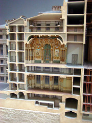 Cutaway model of Opera Garnier 2