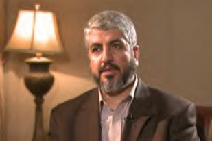 Hamas political leader Khaled Meshaal calls for a Palestinian Intifada in response to the Israeli blockade and aerial bombardments in Gaza. Bombings by Israel killed over 220 on December 27, 2008. by Pan-African News Wire File Photos