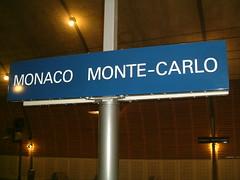 Monaco Train Station going to Menton Fr (1)