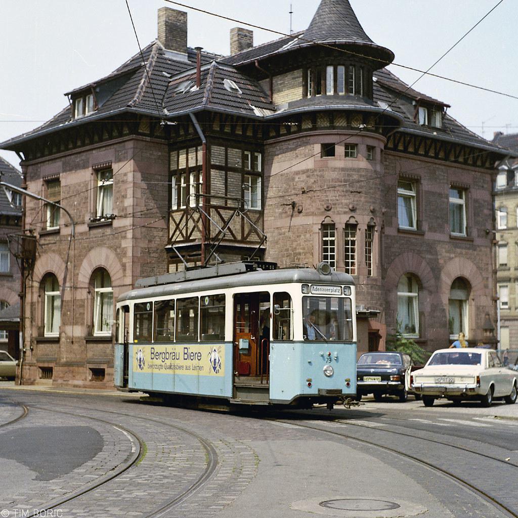 Heidelberg Depot Verband Triebwagen Leaving The Depot F Flickr