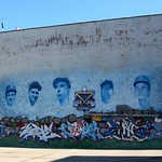 Bronx - Yankee Stadium: Parking Lot - Mural