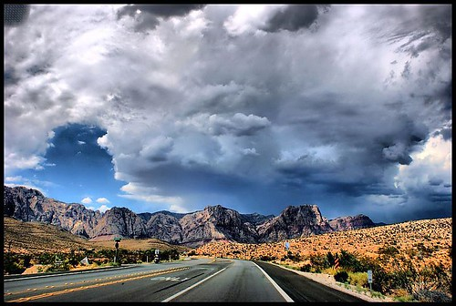 redrockcanyon usa mountain storm nature clouds landscape desert nevada hdr arianwen anawesomeshot sonyalpha350