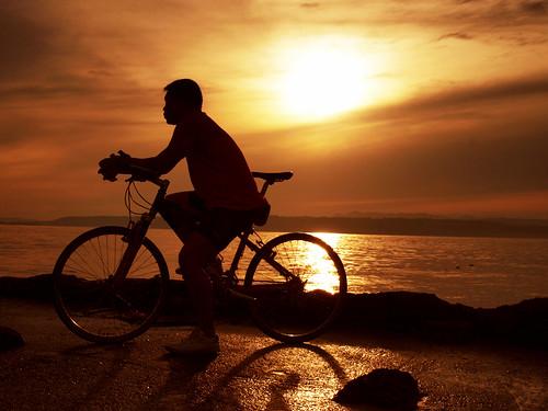 reflection nature bicycle sunrise philippines olympus wharf orangesky redsky sweetcaroline davaocity darkimage manridingabike staanawharf garbongbisaya carolineespejon falalameteorgarden inthestillnessofthemorning