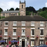 Tontine Hotel and the Church of St Luke, Ironbridge