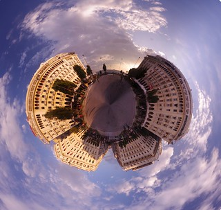 Aristotelous Square Planet