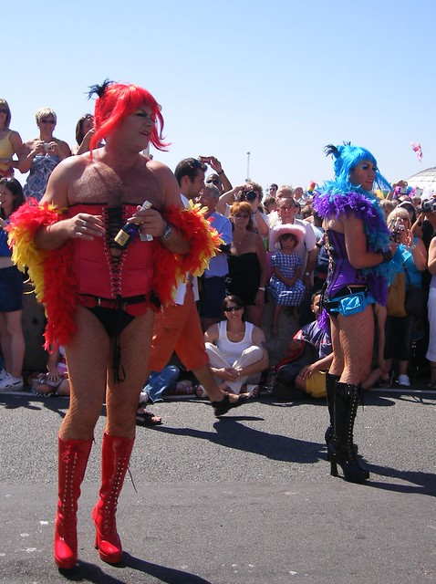 Brighton Gay Pride 2007, Fujifilm FinePix F470