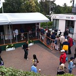 HSBC tent at Wimbledon 2011