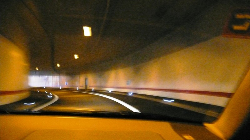 In the tunnel - Solothurn exit