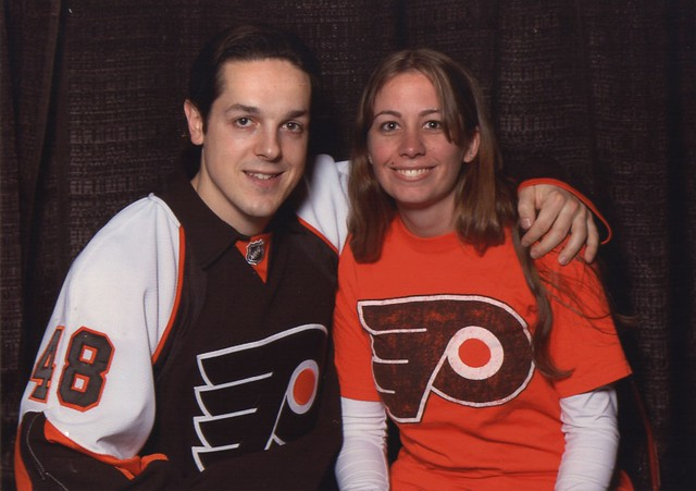 Briere Girlfriend http://www.flickr.com/photos/rickilynn7/2304137087/