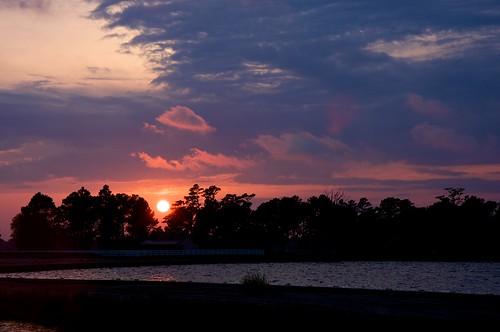 sunset elizabethcity pasquotankriver beamcatchers
