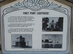 3608 Piney Point Lighthouse Sign