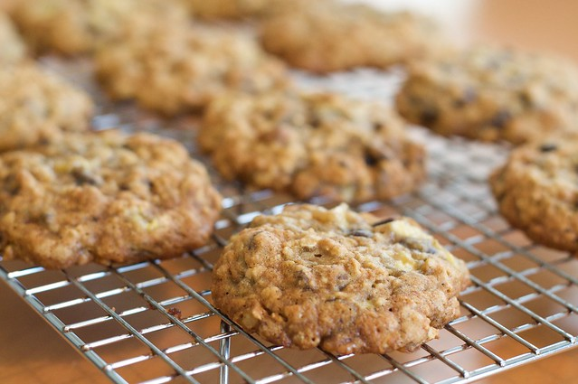 Banana-Oatmeal Chocolate Chip Cookies | Flickr - Photo Sharing!