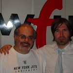 Justin Currie at WFUV with Darren DeVivo