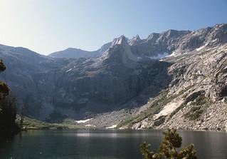 Great Western Divide above Hamilton Lake