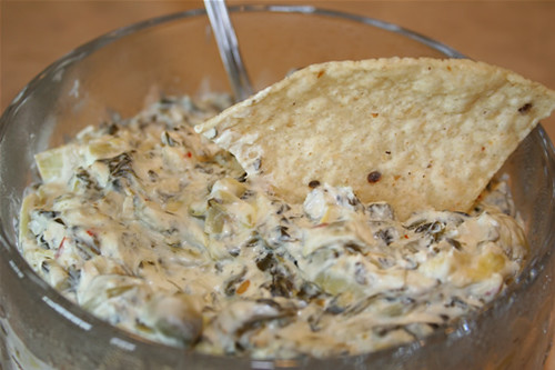 Olive garden spinach artichoke dip cindy 39 s recipes - Spinach artichoke dip olive garden ...