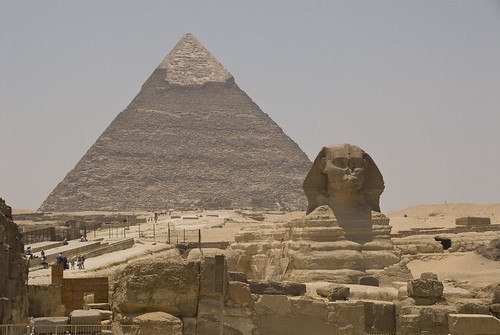 The Great Pyramid and Sphinx, Egypt