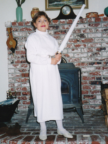 As Princess Leia