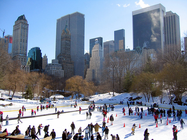 New York. Central Park. Wollman Rink