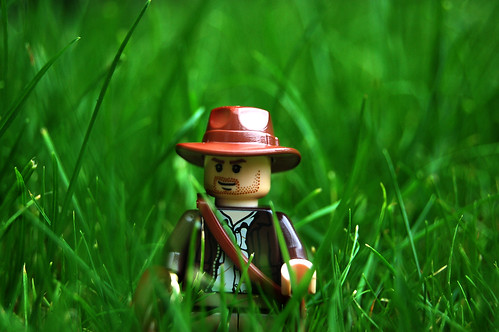 LEGO Indiana Jones in Grass