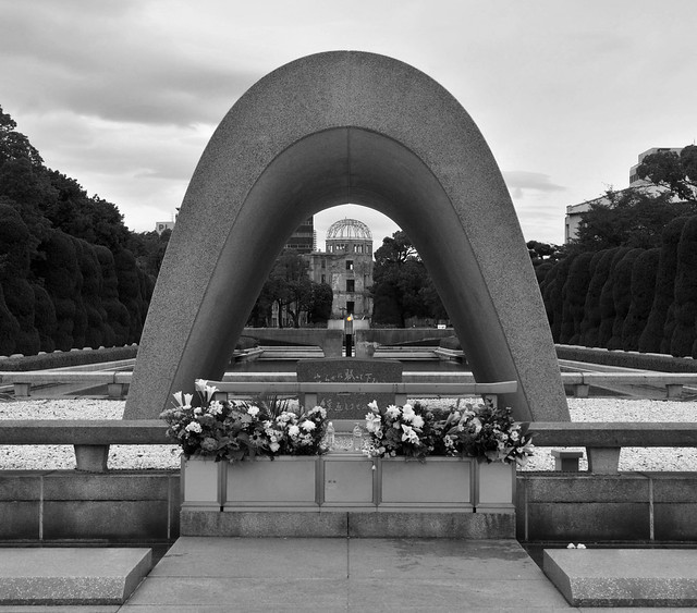 Cenotaph Memorial - Hiroshima - Japan