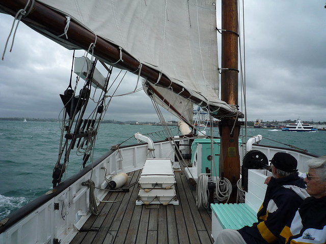 Sailing the Ted Ashby