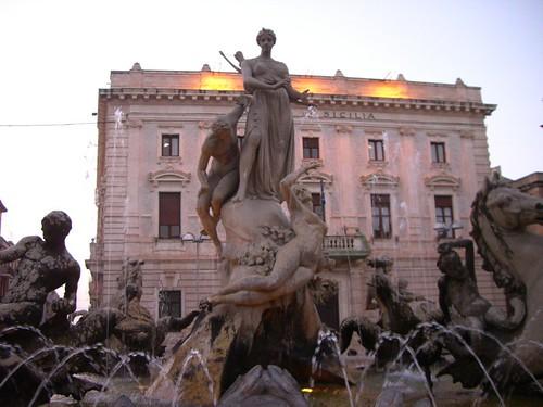 Siracusa - Fontana di Diana