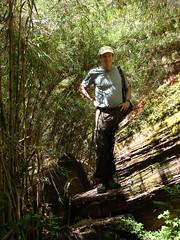 Randy Hiking near Puerto Frias