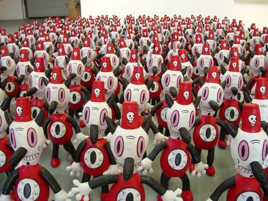 Toby dolls, Gary Baseman