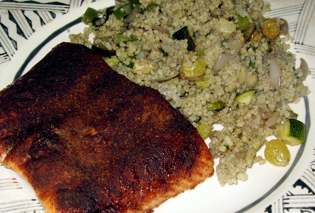 Moroccan Spiced Salmon with Couscous | Flickr - Photo Sharing!