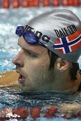 Silver medallist Alexander Dale Oen