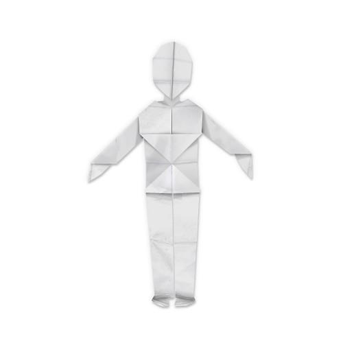 Origami Man Easy Tutorial Handmade