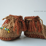 Made-to-order MMW Dolly Moccasins