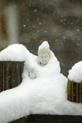 cold buddha by Roger LeJeune, via I {heart} Rhody