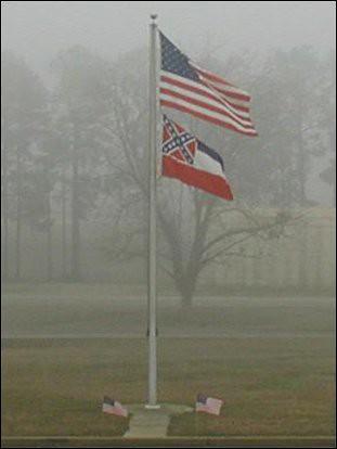 fog mississippi americanflag flags