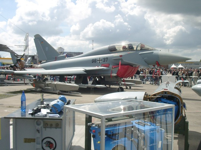Eurofighter vor Tornado