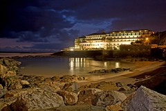 Ericeira Hotel by night