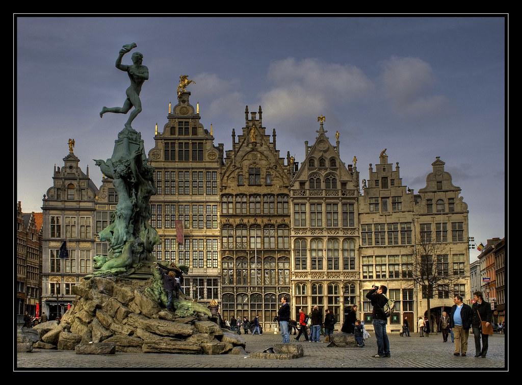 The Brabo Fountain, Antwerp.
